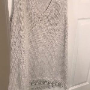 Lilly Pulitzer tank sweater, XL